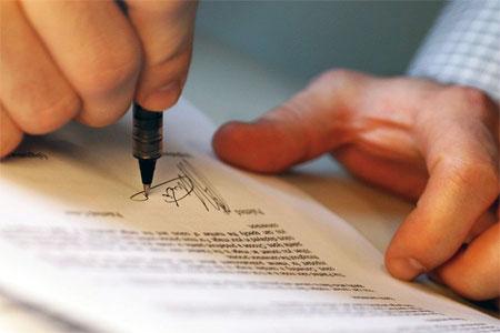perizia su firma