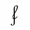 lettera f grafologica significato